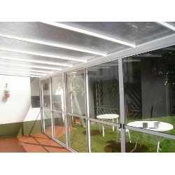 Policarbonato transparente techo for Techo policarbonato transparente